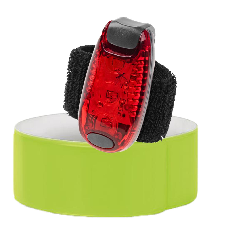 Klackband und LED Clip